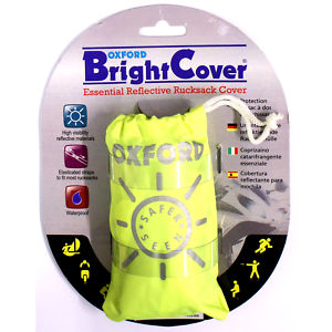 Oxford Bright Cover High Vis Waterproof Rucksack Cover