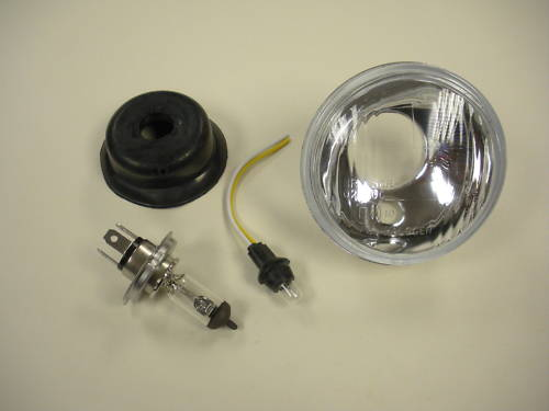 Replacement Lens for Dominator Twin or Single Round Headlights