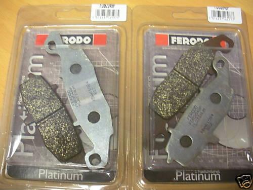Ferodo FDB2048P & FDB2049P Front Platinum Brake Pads