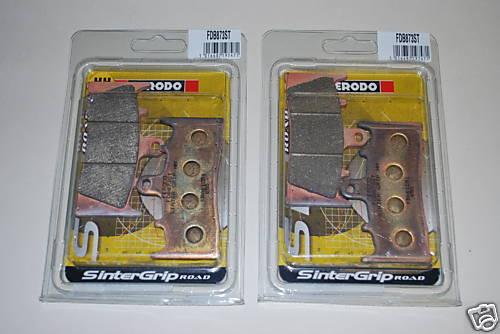 2 x Ferodo FDB873ST Front Brake Pads