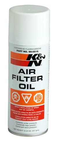 K&N Air Filter Oil Large 408ml
