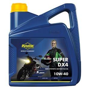 Putoline Super DX4 Semi-Synthetic 4Stroke 10W/40 Oil 4 Litre