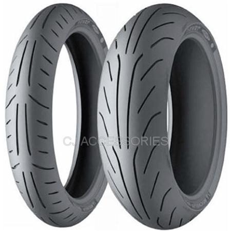 Honda MSX125 Grom 2013-2016 Michelin Power Pure SC Pair Tyres 120/70 130/70 12