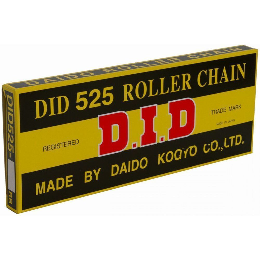 Honda CB500 1994-2003 DID Grey 525-108 Roller Non O-Ring Chain Ideal For Race & Track Bikes