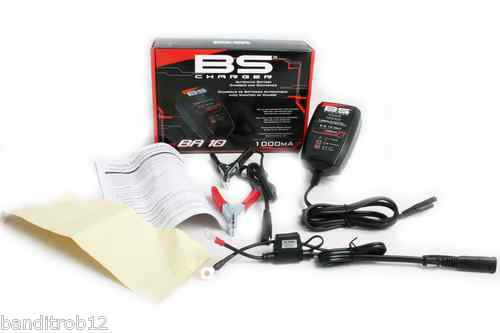 BS BA-10 6v 12v Compact Battery Charger & Maintainer