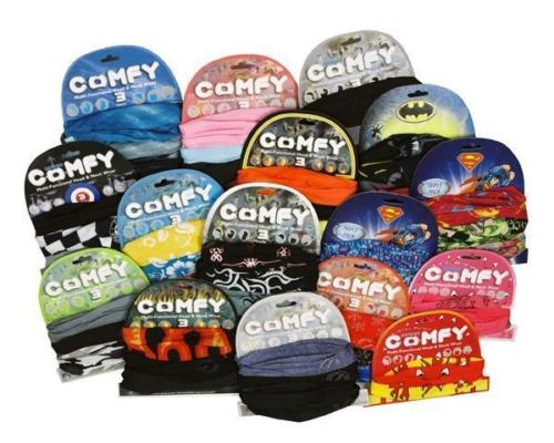 Oxford Comfy - Multi functional Head & Neck Wear (Pack of 3)