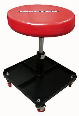 Pneumatic Garage Creeper Seat Stool with Tool Tray