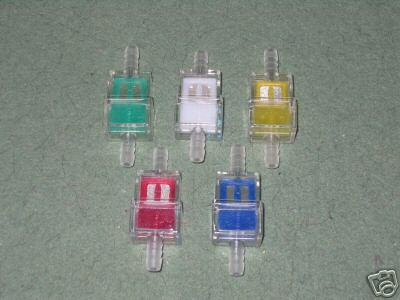 6mm Square Fuel Filter