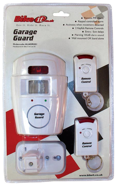 Garage Guard Remote Control PIR Alarm