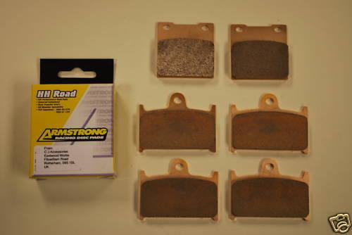 Full Set Sintered Brake Pads for Suzuki GSF1200 >00 GSXR RF900