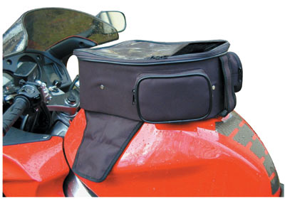Luggage Tank Bag with Map Pouch and Rain Cover