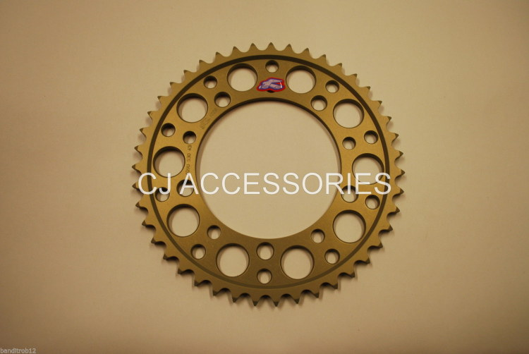 Renthal Ultralite Hard Anodised 43 Tooth Rear Sprocket GSF1250