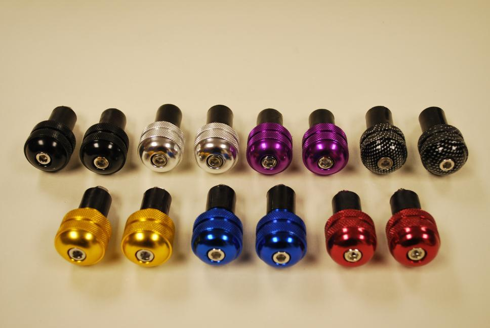Anodised Round Bar End Weights