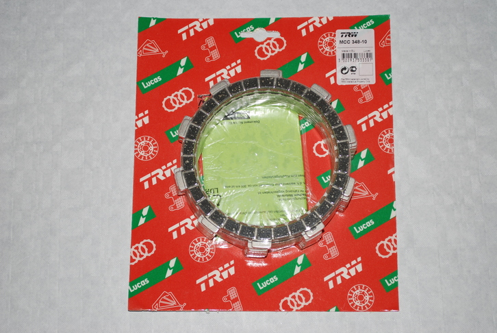 TRW Lucas Heavy Duty Clutch Friction Plates GSF600 Bandit