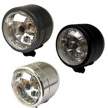 Single Base Mounted Dominator Headlight Headlights