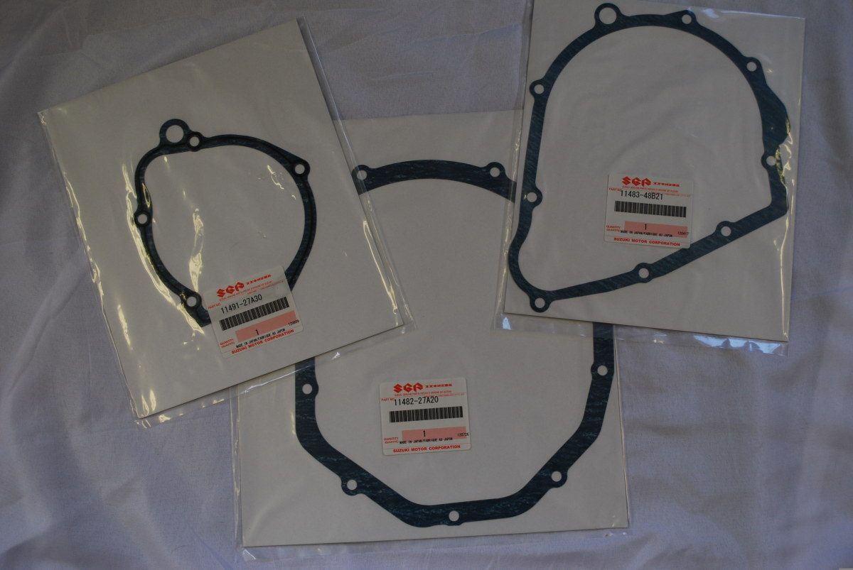 Genuine Suzuki GSF Bandit 1200 Engine Side Casing Gasket Set