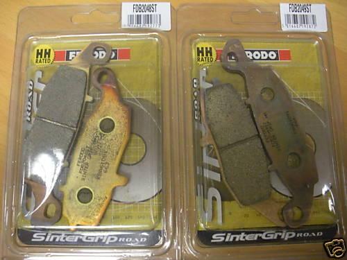 Ferodo FDB2048ST & FDB2049ST Front Sintered Brake Pads