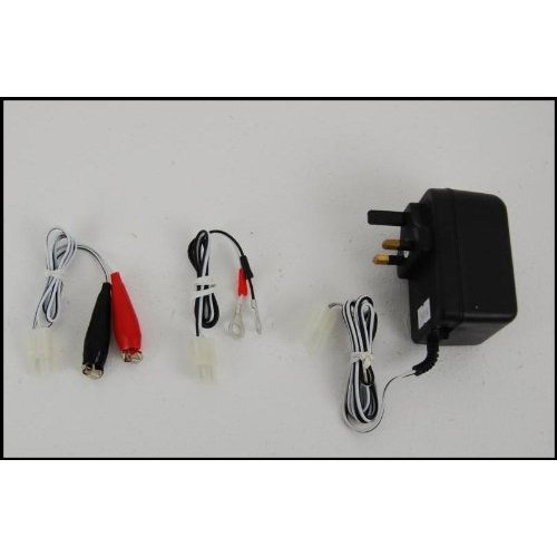 6v/12v Motorcycle Battery Charger with Auto Cut Off