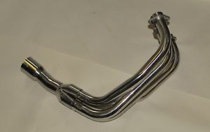 Suzuki GSF600 95-04 Bandit Stainless Steel Exhaust Headers Manifold Downpipes