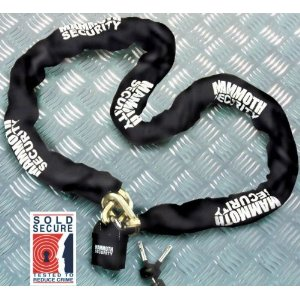 Mammoth 1.8M Sold Secure Lock & Chain