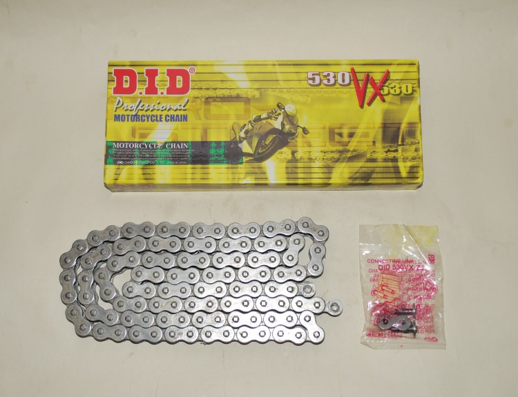 DID Grey X-Ring Chain For Suzuki GSF600 95-04 GSF650 05-06 Bandit VX 530-112