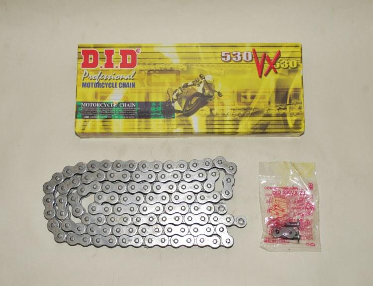 DID Grey X-Ring Chain For Suzuki GSF600 95-99 GSF1200 96-05 Bandit VX 530-110