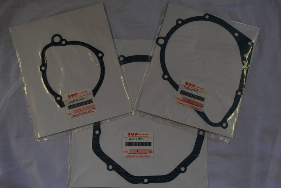 Genuine Suzuki GSF600 Bandit Engine Side Casing Gasket Set