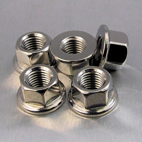 Stainless Steel Sprocket Nuts Suzuki GSF600 Bandit 95-04