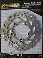 Stainless Rear Wavy Disc - Rotor GSF650 GSF1250 Bandit SV650