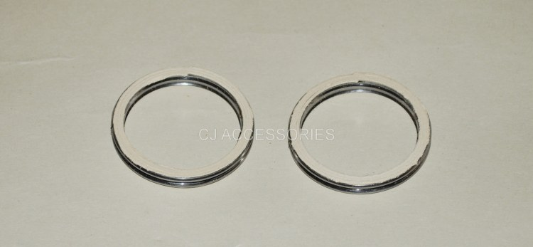 Pair Of Quality Exhaust Gaskets For Honda CB500 1994-2003