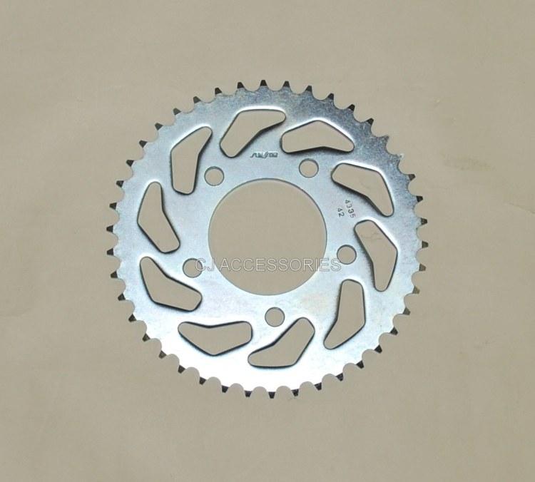 Honda CB500 1994-2003 42 Tooth Sun Star Silver Rear Sprocket
