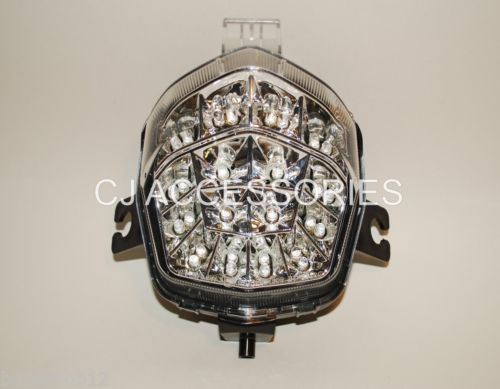 Clear Lens LED Rear Light Integral Indicators Suzuki Bandit GSF650 GSF1250 09 On