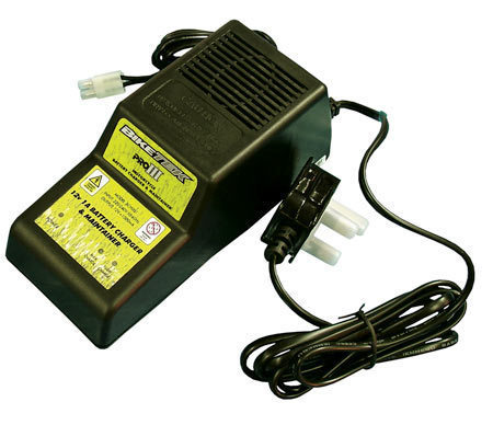 BikeTek Pro 3 Diagnostic Motorcycle 12V Battery Charger & Maintainer