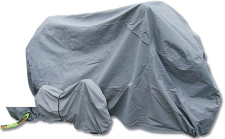Premium Motorcycle Rain Cover - 3 Sizes Available