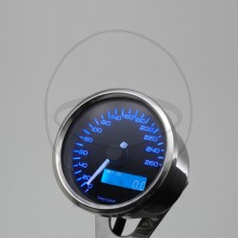 Daytona Velona Electrical Stainless Steel Speedometer - MPH or KPH