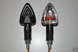 Universal Mini Arrow Indicators Black or Carbon
