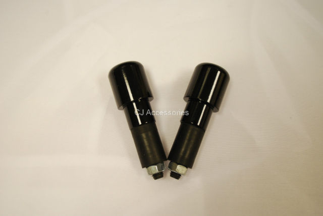 Universal Heavy Bar End Weights for 7/8&quot; Steel Handlebars