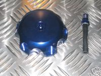 Lightweight Anodised Alloy Fuel cap with Breather Valve to Fit Yamaha YZ & Kawasaki KX250