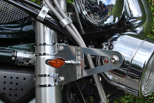 Fork Mounted Headlight Brackets