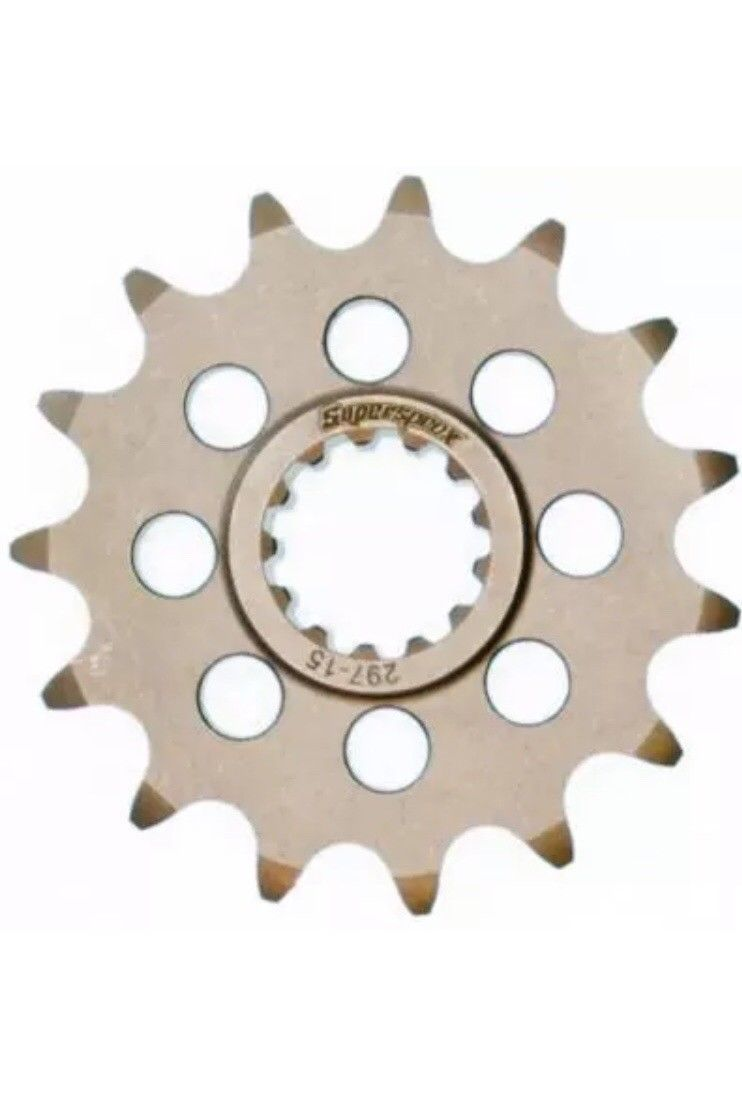 Honda CB500 1994-2003 Drilled Front 15 Tooth Supersprox Sprocket 297-15