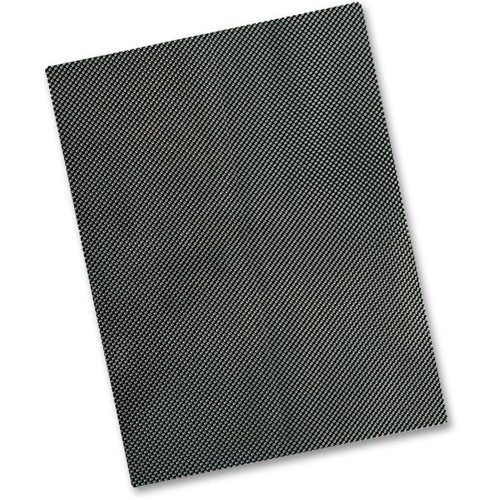Carbon Fibre Look Vinyl Tank Pad Protection Sheet 300mm x 250mm