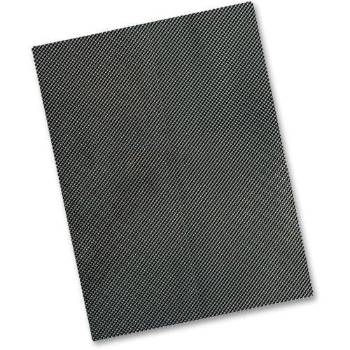 Carbon Fibre Look Vinyl Tank Pad Protection Sheet 300mm x 250mm