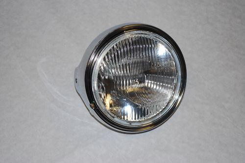 "Metal Chrome Universal 7"" Round Headlight"