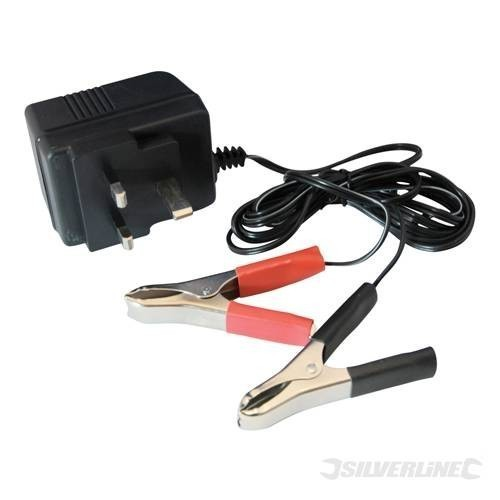 Silverline 12V Motorcycle Quad Scooter Battery Trickle Charger
