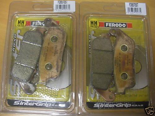 2 x Ferodo FDB570ST Front Sintered Brake Pads