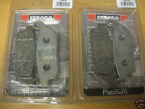2 x Ferodo FDB570P Front Brake Pads