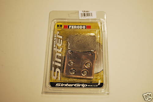 Ferodo FDB338ST Sintered Rear Brake Pads