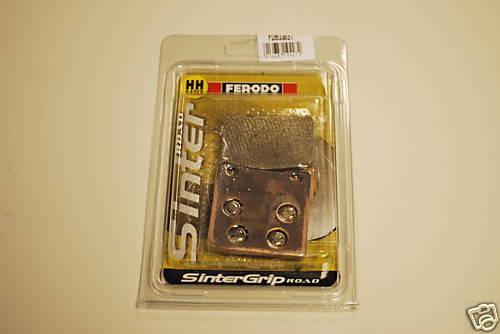 Ferodo FDB338ST Sintered Rear Brake Pads