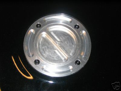 Keyless Race Fuel Filler Cap - Suzuki Kawasaki Yamaha or Honda 