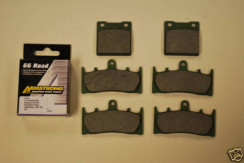 Full Set Armstrong GG Brake Pads For Suzuki GSXR TL1000 Hayabusa
